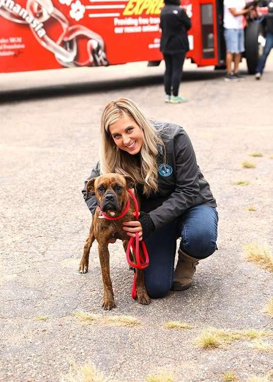 Lexie Marie and Volunteer